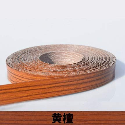 NO LOGO 1pc 10M autoadhesivasFabricamos Muebles de Madera de Chapa de Madera Franja de Borde Decorativo de PVC for Muebles de Caja de Oficina Mesa de Madera Ribete de Superficie (Color : Q)