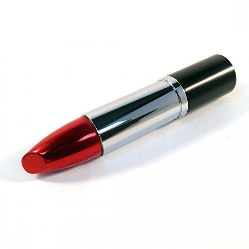 Lippenstift silber USB Flash Drive 8 GB - Memory Stick Daten Storage - Pen Drive - Speicherstick -...