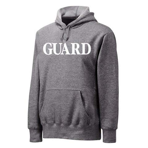 Lowest Prices! VLX Lifeguard Hooded Sweatshirt,Light Grey,XXL