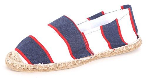 Sommerlatschen Espadrilles, Design - Espadrilles, Unisex, SL1414, Größe 44