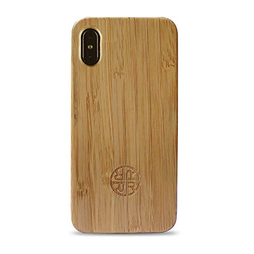 Reveal Zen Garden Bamboo Case Compatible with iPhone - Natural Eco-Friendly Design (Bamboo, iPhone Xs)