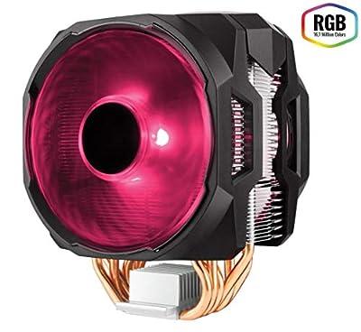 Cooler Master MasterAir MA610P CPU Air Cooler '6 Heat Pipes, RGB Controller, 2x 120mm RGB Fans' MAP-T6PN-218PC-R1