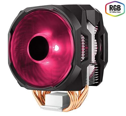 Cooler Master MasterAir MA610P RGB Ventola per CPU '6 Heatpipes, 2 x MasterFan AB 120 RGB Ventola, LED RGB' MAP-T6PN-218PC-R1