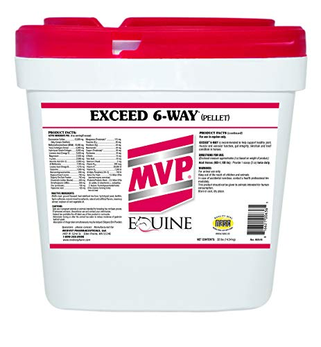 Horse | Med-Vet Exceed 6-Way Pellets 32lb, Gym exercise ab workouts - shap2.com
