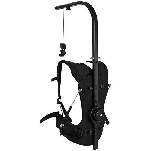 VEVOR Easy Rig Stabilizer Vest Professional Camera Video Film Support System for 3 Axis Stabilized Handheld Gimbal Backpack Body Pod Steadycam Stabilizer 8kg - 18kg / 17.6lb - 39.7lb Load Capacity