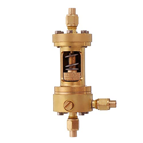 AVANI EXCHANGE Regulador de presión automático de la Caldera del Motor de Vapor P5 para el Modelo de Motor de combustión Externa