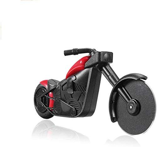 Motorrad Pizzaschneider Edelstahl Rad Cutter für Kochen und Küche