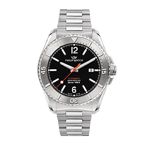 Philip Watch Orologio Uomo, Collezione AMALFI, Automatico, Tempo e data - R8223218003
