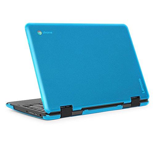 iPearl mCover Hard Shell Case for 2018 11.6' Lenovo 300E/FLEX 11 series 2-in-1 Chromebook Laptop (NOT fitting Lenovo 300E Windows & N21/N22/N23/100E/500E Chromebook) (C300E AQUA)