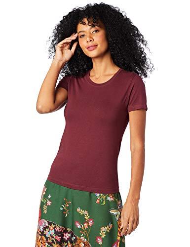 Camiseta Básica, Hering, Feminino, Vermelho, P