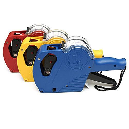 feichang Other Tools MX-5500 EOS - Pistola de 8 dígitos con 5000 etiquetas y 1 tinta (color: amarillo)