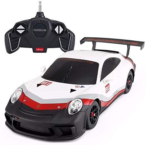 ZZYJYALG Simulación de alta velocidad al aire libre a la deriva 4WD inalámbrico remoto Drift Racing RC eléctrico de juguete 1/18 de cuatro ruedas motrices modelo deportivo de coches for niños Niños Ad
