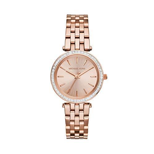 Michael Kors Reloj Analogico para Mujer de Cuarzo con Correa en Acero Inoxidable MK3366