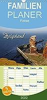 Helgoland - Familienplaner hoch (Wandkalender 2022 , 21 cm x 45 cm, hoch): Deutschlands traumhafte Hochseeinsel (Monatskalender, 14 Seiten )