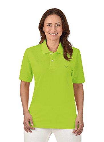 Trigema Damen Deluxe Piqué Poloshirt, Gelb (Lemon 271), 56 (Herstellergröße: XXXL)
