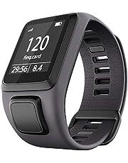 Shieranlee Horlogeband voor TomTom Horloge, Siliconen Waterdicht Ademend Sport Fitness Horlogebandje Polsband vervanging voor TomTom Runner 2/Runner 3/Spark/Golfer 2 Sport GPS Running Smartwatch