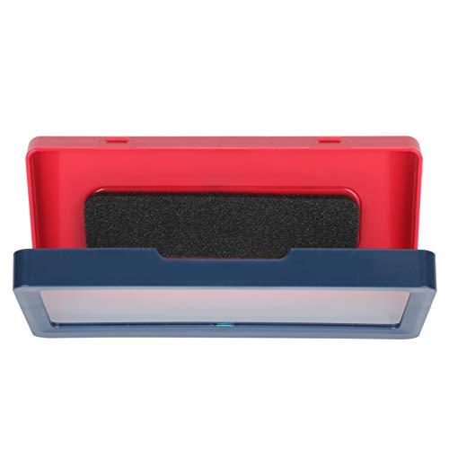logozoee Badezimmertelefonregal, Universalgröße Wand-Dusch-Telefonzelle, wasserdicht für wasserdichte Badezimmertelefonhalter-Dusche(Dark Blue)
