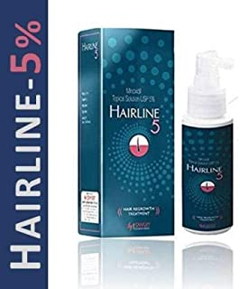 Hairline 5% Solution For Hair Regrowth & Hair Loss Treatment (1 * 60Ml)  (60 ml)