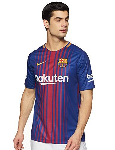 Nike Herren Breathe FC Barcelona Stadium Trikot, Deep Royal Blue/University Gold, M