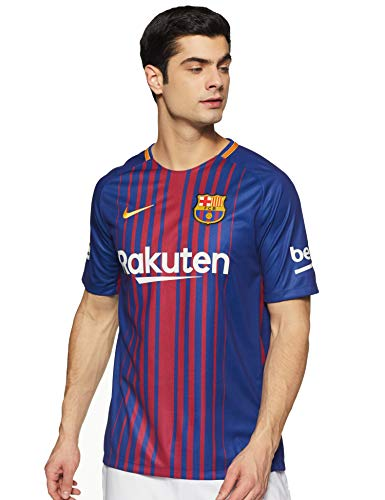 Nike Herren Breathe FC Barcelona Stadium Trikot, Deep Royal Blue/University Gold, L