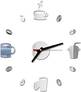 VOSAREA Sin Marco DIY Reloj de Pared Adhesivo Reloj de Pared
