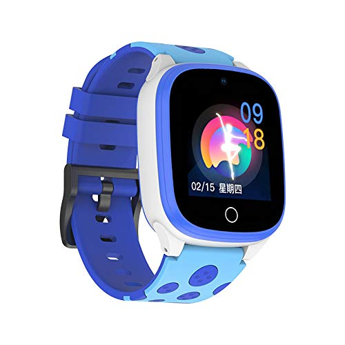 5pcs 1.44 Inch Children's Smart Watch Phone WiFi 4g HD Voice GPS Tracker Ipx7 Waterproof with Food Grade Silicone Watch Strap