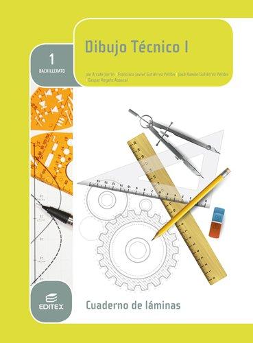 Cuaderno Láminas Dibujo Técnico 1º Bachillerato - 9788490789902