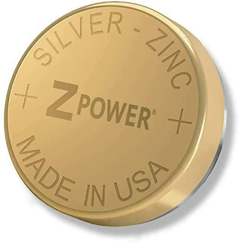 ZPower 312 Rechargeable Silver-Zinc Battery Made and Sold by ZPower. Warning: Other ZPower Batteries Sold on Amazon are not Authorized and can be Expired or Damaged. Buy ZPower Direct Instead!
