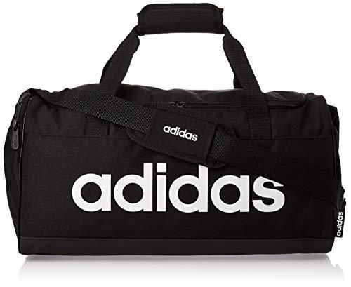adidas Lin Duffle Sporttasche Unisex Black/White, 1size