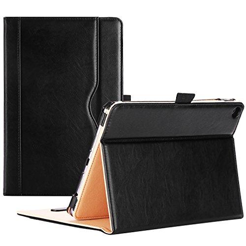 ProCase Verizon ASUS ZenPad Z8s Case (Model ZT582KL, ASUS-P00J) 2017 Release - Stand Cover Folio Case for Asus Zenpad Z8s 4G LTE Tablet -Black