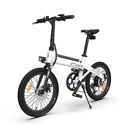 Bicicleta eléctrica 20 Pulgadas Plegable Festnjght 80KM Range Power Assist Bicicleta eléctrica...