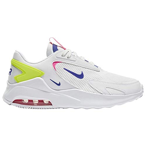 Nike Air MAX Bolt, Zapatillas para Correr Hombre, White Indigo Burst Pink Blast Volt, 38.5 EU