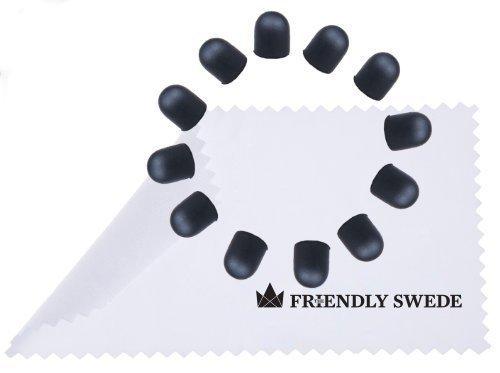 The Friendly Swede - Ersatzspitzen für Touchscreen-Eingabestift Stylus mit dünnerer Spitze (12 Spitzen)