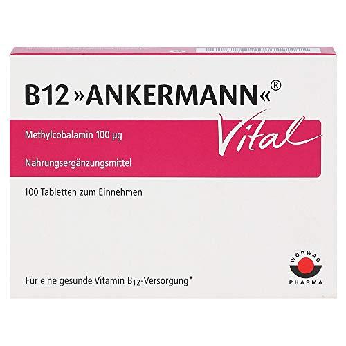 B12 Ankermann® Vital Zur Unterstützung der Leistungsfähigkeit von Körper und Geist*, 100 Stück