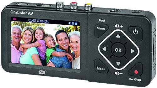 dnt Video-Digitalisierer Grabstar AV, für analoge Video-Quellen, speichert auf USB/SD, Composite/S-Video, DNT000010