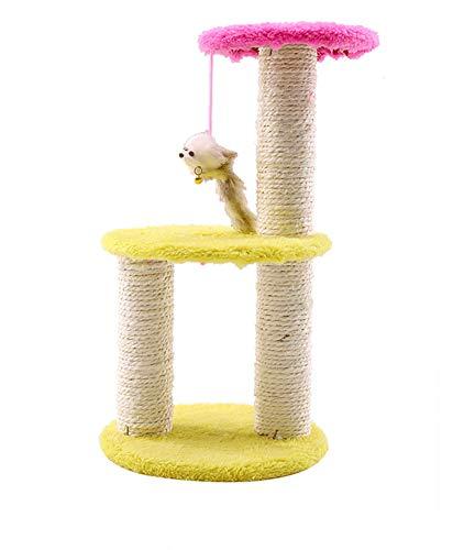 Aida Bz Pet Bricolage Trois-Couche Grand Disque sisal Cat Escalade Cadre Chat Jouet Chat tremplin Fournitures Cat