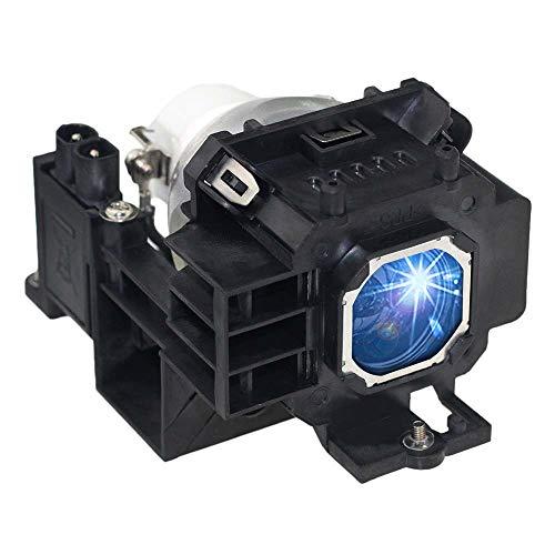 Huaute NP07LP Lámpara de Repuesto para proyector con Carcasa para NEC NP300 NP400W NP500W NP500W NP500WS NP510W NP500WS NP600 NP600S NP610 NP610S proyector
