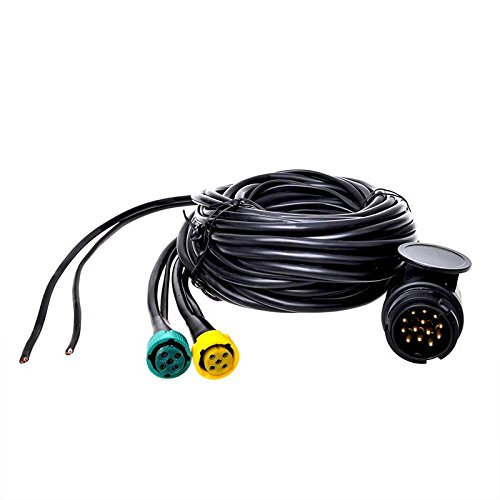 Kabelsatz 9M mit Stecker 13-polig und 2x Steckverbinder 5-polig + 6M DC
