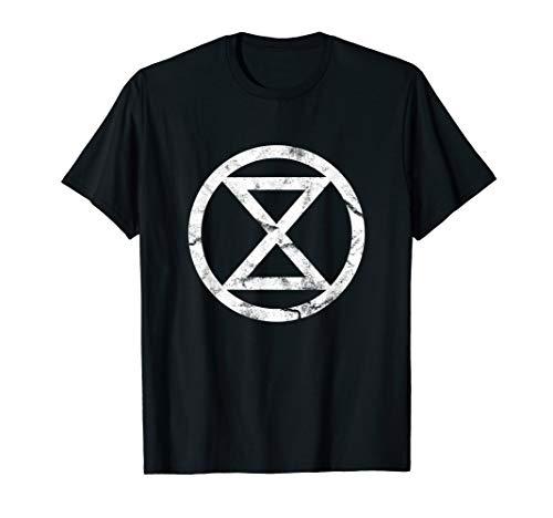 Extinction Rebellion - Logo - symbolische Sanduhr XR, FFF T-Shirt