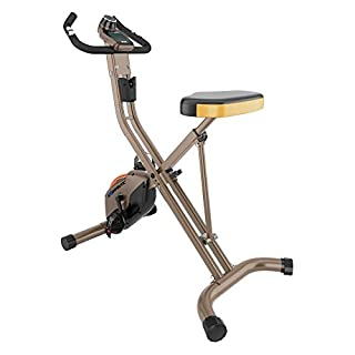 Exerpeutic Gold 500 XLS Heavy Duty Foldable Exercise Bike