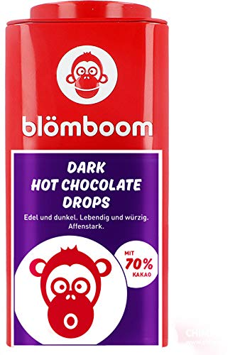 Blömboom - Einzelhandel Metall - Dark Hot Chocolate Drops BIO (200 g)