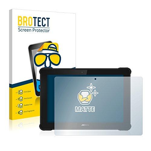 BROTECT 2X Entspiegelungs-Schutzfolie kompatibel mit Archos 101 Saphir Bildschirmschutz-Folie Matt, Anti-Reflex, Anti-Fingerprint