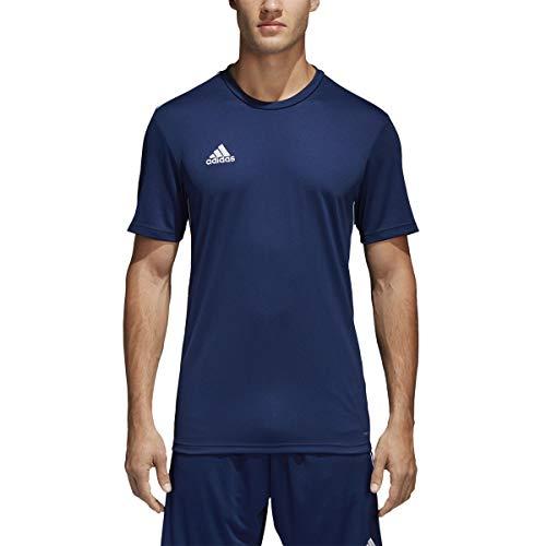 adidas Men's Core 18 Training Jersey, Dark Blue/White, X-Large