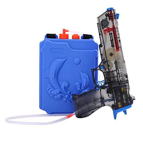 Lihgfw Children's Electric Water Gun Toy hogedrukreiniger Grote Automatic Water Vechten Campagne waterpistool jongen en meisje Electric Water Gun grote capaciteit Backpack verstelbare riem