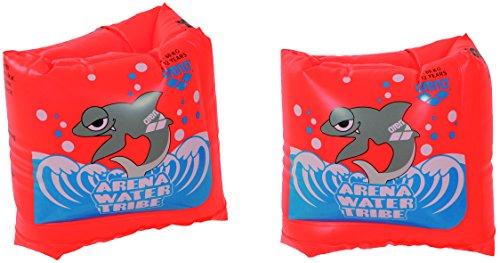 arena Kinder Unisex Schwimmflügel Roll-Up (Aufblasbare Schwimmhilfe, EU-Sicherheitsstandards), Nectarine (30), One Size