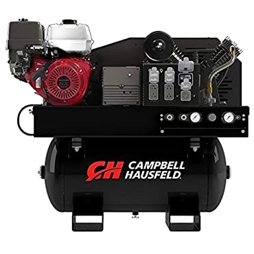 Campbell Hausfeld GR2200 2-in-1 Air Compressor/Generator with GX390 Gas Engine and 30 Gallon Tank