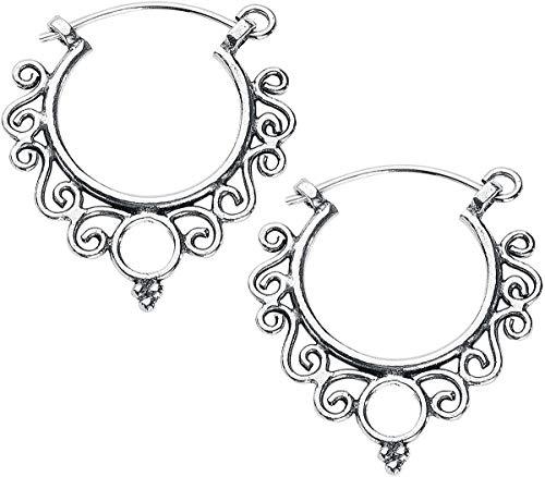 etNox Boho Ohrringe Frauen Ohrring silberfarben 925er Sterling Silber Basics