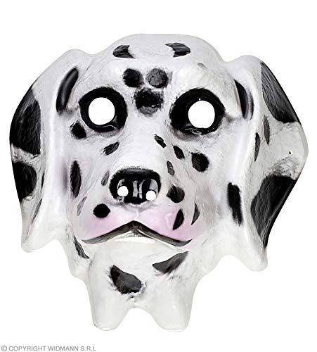Widmann Plastic Mask Child - Dalmation