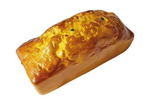 ERRO Tarta de limón falsa de plástico – 15502, torta falsa de pastelería, imitación de alimentos, falso accesorio teatro