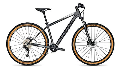 Derby Cycle Focus Whistler 3.7 29R Mountain Bike 2021 (S/40cm, Toronto Grey)